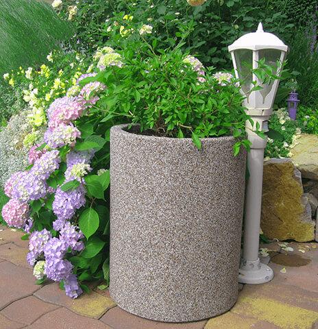 Spezial Pflanzentrog-Rundtrog für Ihren Garten.