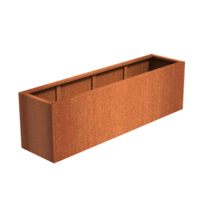 Corten – Caja 120 x 50 x 50 cm